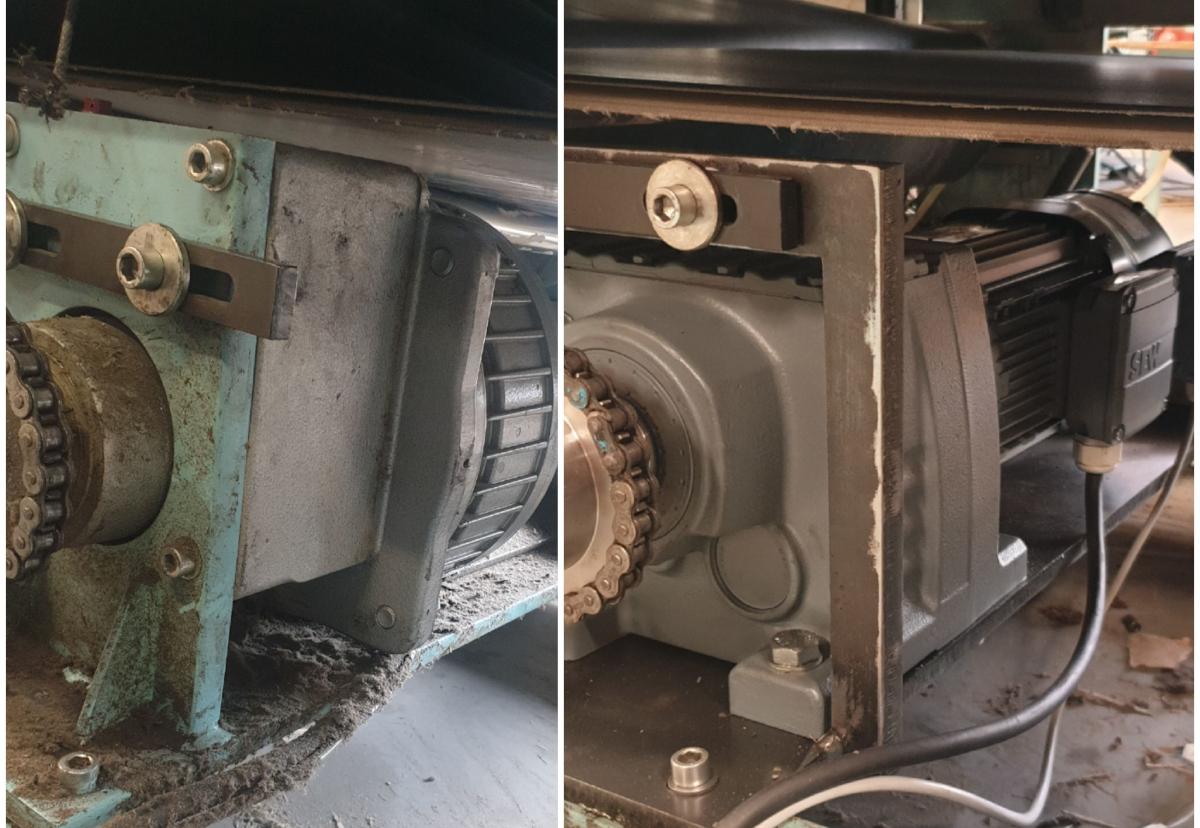 réparation : avant/après